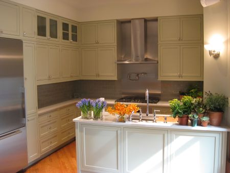 finished kitchen at this old house new york brownstone project