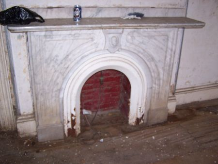 Roxbury fireplace surround