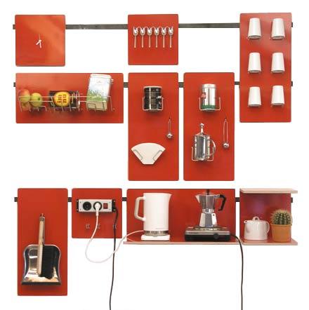 Wall Mount Modular Storage