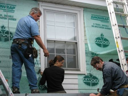 removing vinyl siding, newton centre, this old house