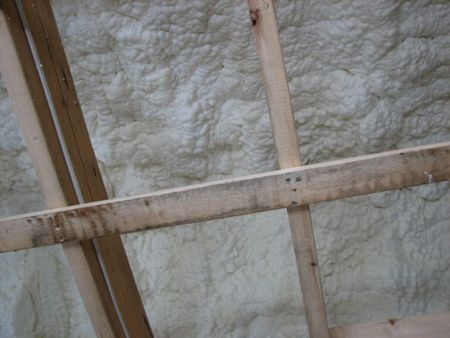 insulation, spray-foam insulation, fumes, attics, newton centre, this old house,
