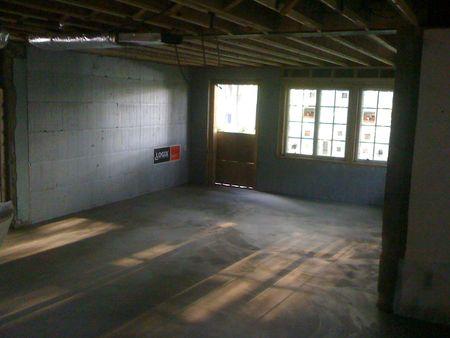 Floor in family room (radiant heat below!)
