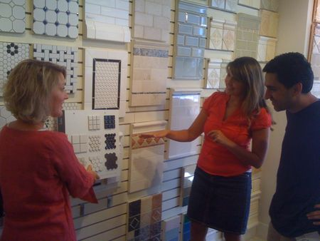 Tile shopping