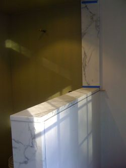 Marble jambs