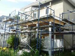 front porches under construction