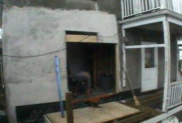 webcam sliding door hole back deck