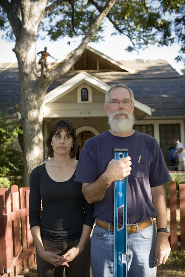American Neo-Gothic austin homeowner and builder