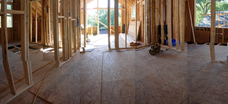Upstairs_panoramic view of framing